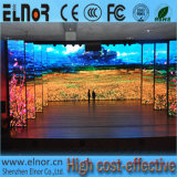 Höhe erneuern InnenP4 SMD farbenreichen LED Miete-Bildschirm