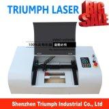 Pequeño cortador de escritorio del grabador del laser del CNC de la cortadora del laser mini para la máquina de grabado plástica de goma del laser del acrílico del MDF 3020