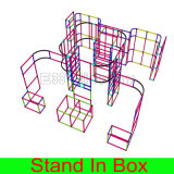 Будочка случая выставки стойки таможни DIY конструкции портативная модульная