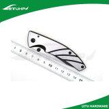 нож 3Cr13 EDC складывая с частично лезвием отделки чернением