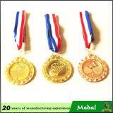 La medaglia su ordinazione del premio del metallo dell'oro d'ottone in lega di zinco della pressofusione