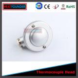 Tête industrielle de thermocouple personnalisée par vente chaude de Heatfounder