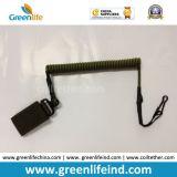 El acollador elástico de la base del alambre asegura la pistola que cae el Velcro de la correa de W/Black