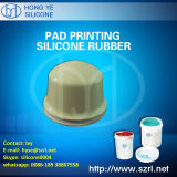Borracha de silicone RTV-2 líquida para a impressão da almofada