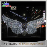 Indicatore luminoso esterno della decorazione della città di paesaggio LED del cuore popolare di natale