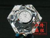 Cristal de reloj de cristal del pisapapeles decoración de la tabla