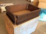 シラカバの純木の浴室用キャビネット