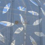 Feuille en aluminium perforée de configuration creuse de lame pour le système de façade