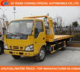 De Vrachtwagen van Wrecker van de Weg van Isuzu 4X2