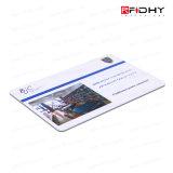 Carte D'IDENTIFICATION RF du Matériau 13.56MHz ISO1443A de PVC avec L'impression en Soie