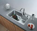 Dispersore di cucina della ciotola dell'acciaio inossidabile dell'un pezzo solo Ss201 di Affordble singolo (YX5540)