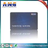 Smart card da identificação RFID da segurança do empregado do PVC Tk4100 com impressão de cor de Cmyk
