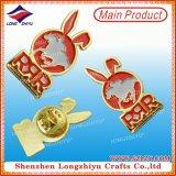 Boutons faits sur commande d'insigne de Pin d'étiquette en métal