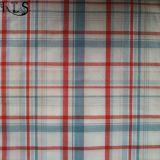 Il filato tessuto del popeline di cotone ha tinto il tessuto per le camice/vestito Rls40-47po degli indumenti