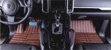 Tapijt van het Leer XPE van pvc van de Rand van de Mat van de auto het Volledige
