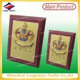 Plaque en bois commémorative d'écran protecteur de plaque d'or à vendre