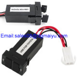 Toyota를 위한 차 Dual USB Port Socket USB Charger Parts 2.1A/1A Cellphone Charger