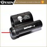Mini vue de portée de POINT de laser de rouge avec le bâti de base de rail de tisserand