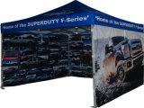 Exposition estampée annonçant la tente du tissu de PVC