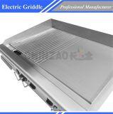 Plancha eléctrica para la parrilla comercial Dpl-740-2 de la placa caliente del hotel
