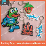 Fabrik Directly Cheap Promotional 2D Custom Animal Shaped Soft PVC keychain
