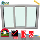 Nuevas pistas del plástico 3 de UPVC que resbalan la ventana de cristal del balcón