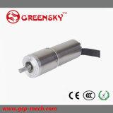 Motor eléctrico del engranaje sin cepillo micro de la C.C. de la buena calidad