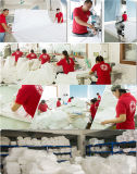 Roupa de linho da tabela do casamento elegante dos poliésteres de Guangzhou 100%
