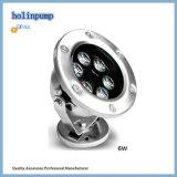 Schwarzes Unterwasserlicht LED beleuchtet Hl-Pl06