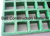 Решетка отлитая в форму стеклотканью, FRP/GRP Gritted решетка