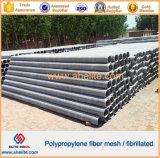 Alta calidad de la fibra de polipropileno fibrilada