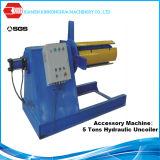 Máquina que enmarca del calibrador del acero C U de la correa ligera automática del braguero