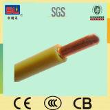 6sqmm Earthing Wire Yellow und Green für Building H07V-U H07V-R