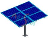 Único sistema solar da montagem da linha central
