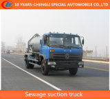 Dongfeng 4X2 8000L Sewage Suction Truck Vacuum Suction Truck