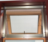 Colouful UPVC Profile Awning Window with Roller Mosquito Screen K02042