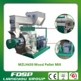 Fornecimento Anel Die Pellet Mill / 2tph Rice Husk Pelletizer Machine