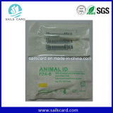 125kHz 134.2kHz RFID beantragen Glasmikrochip-Marke ISO11784/11785