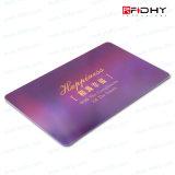 Smart Card senza contatto di identificazione RFID di affari di frequenza ultraelevata del PVC