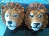 Alta qualità Plastic Promotional 3D Rubber Tiger Fridge Magnet (FM-048)