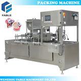 주스를 위한 플라스틱 컵 충전물 그리고 밀봉 기계