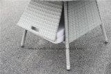Комплект и стул обедая таблицы ротанга напольного сада Wicker