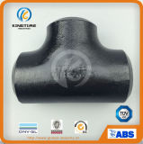 Alta qualidade ASME B16.9 Butt Welded Tee Fitting Carbon Steel Pipe Fitting (KT0297)