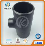 ASME B16.9 A420 Smls Wpl6 탄소 강철 동등한 것 티 관 이음쇠 (KT0203)