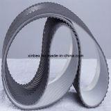 PVC 목제 프로세스를 위한 회색 종갱도 패턴 컨베이어 벨트