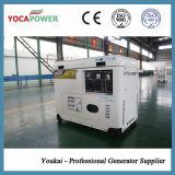 Генератор 5kVA охлаженный воздухом электрический звукоизоляционный тепловозный