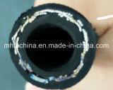 Boyau hydraulique tressé de fil (EN853-2SN-3/8) boyau de /Rubber