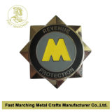 La policía de calidad superior Badge con el esmalte del brillo