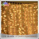 Luz feericamente azul da cortina do diodo emissor de luz decoração ao ar livre/interna do Natal
