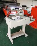 Sellador semiautomático manual combinado con el sitio de horno que encoge para el embalaje de lacre lateral 3 con el rodillo y la película plegable de POF